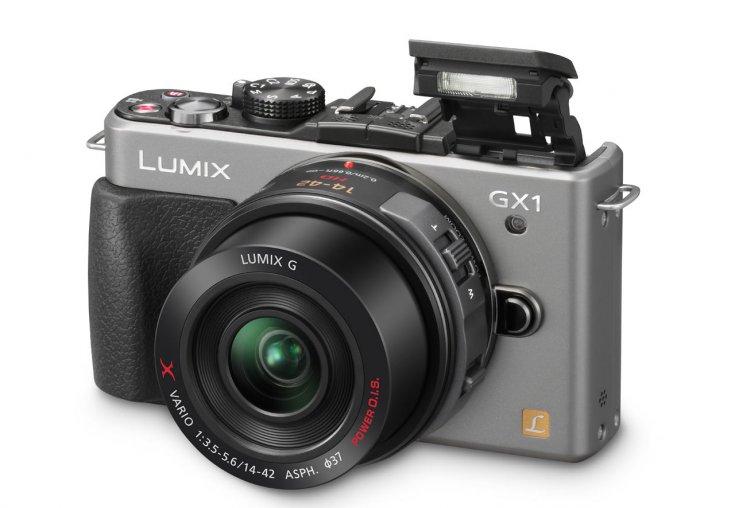 Новая беззеркалка Panasonic Lumix GX1