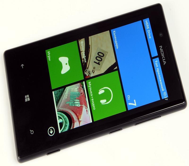 Немного про смартфон Nokia Lumia 720