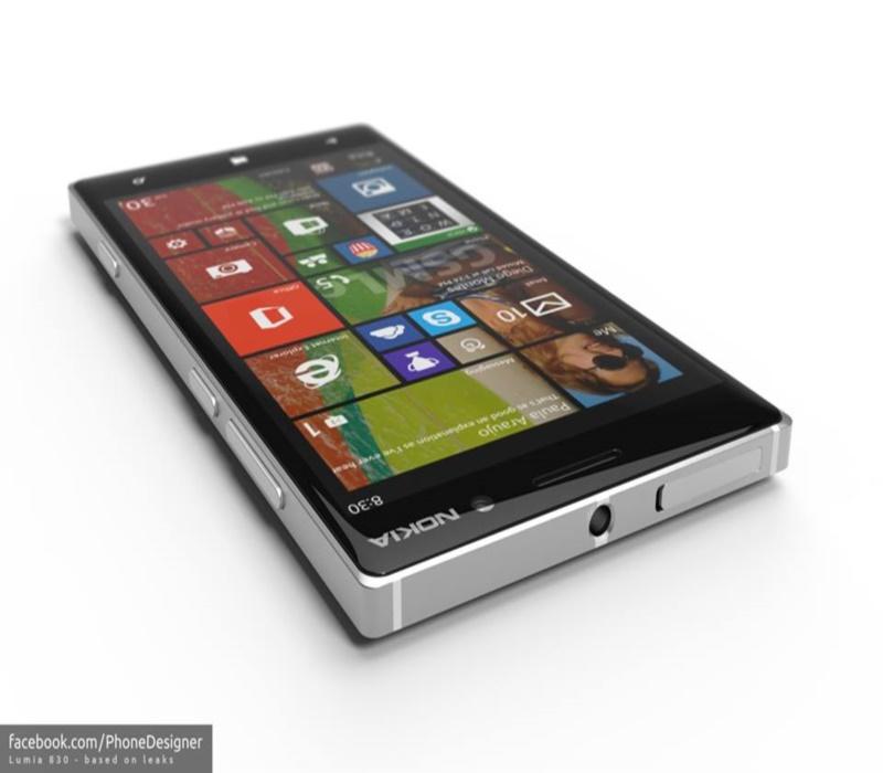 Привлекающий внимание Nokia Lumia 830